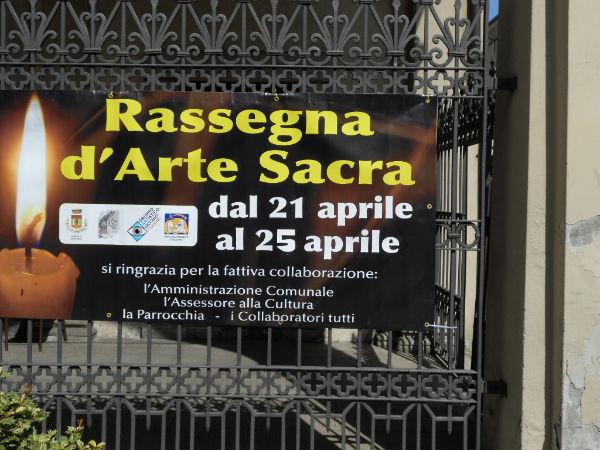 X RASSEGNA D'ARTE SACRA - Cuggiono Chiesa di San Rocco, dal 21 al 25 Aprile 2012