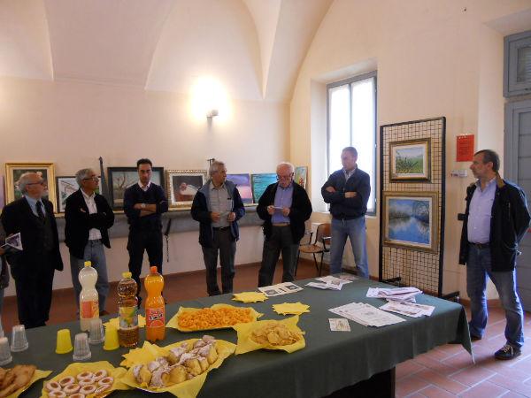 anno 2012 Mostra Amici nella Cultura di Sedriano presso Villa Annoni - Aprile 2012