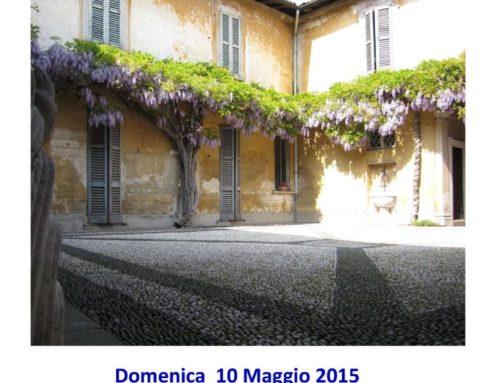 Anno 2015 10 Maggio 2015 – VIII^ Rassegna ARTE IN CORTE presso Palazzo Clerici a Cuggiono.