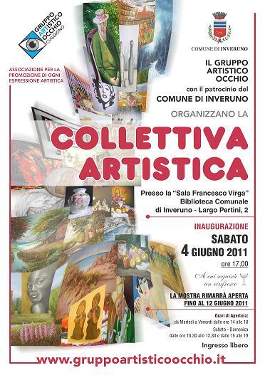 Collettiva Artistica - Inveruno 4 - 12 Giugno 2011