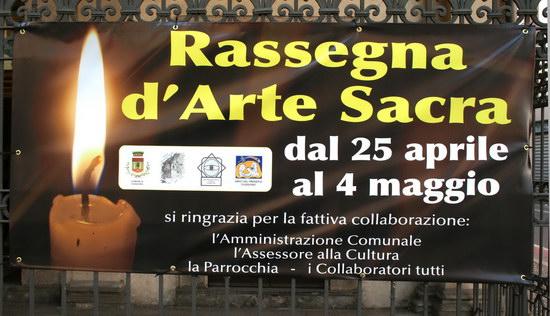 Mostra Arte Sacra- 25 aprile/ 4 maggio 2008