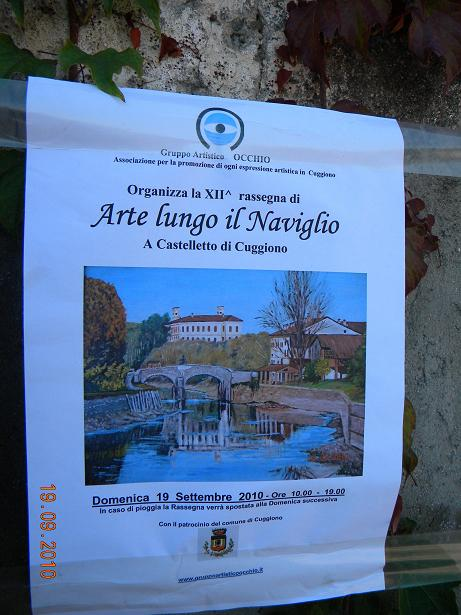 XIIa Rassegna ARTE LUNGO IL NAVIGLIO - 19 Settembre 2010