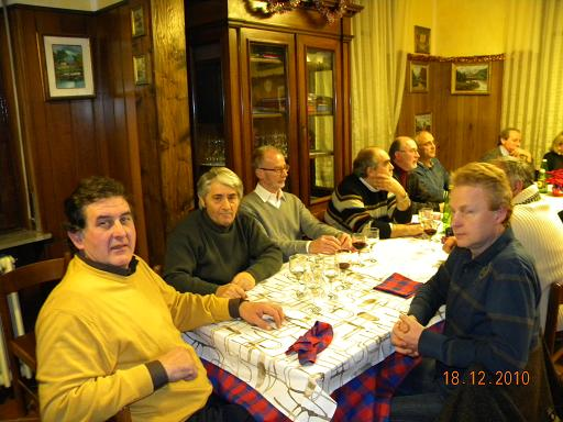 Cena sociale di Natale presso Ristorante La Madonna - 18 dicembre 2010