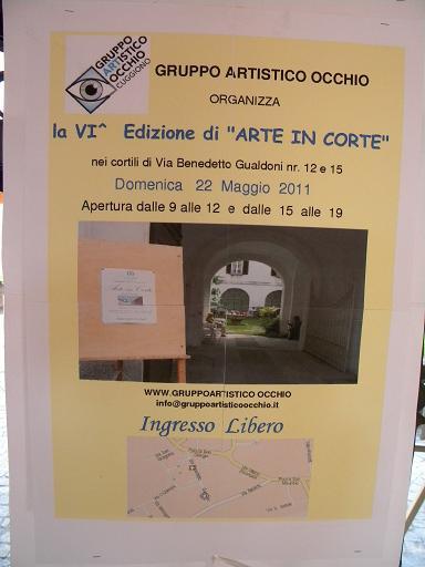VI^ rassegna Arte in Corte - Cuggiono 22 Maggio 2011
