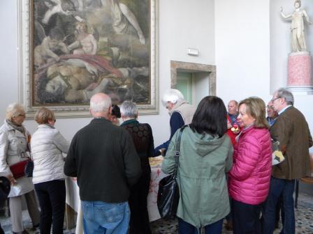 anno 2015 11-12 Aprile Mostra Collettiva presso Sale Centrali di Villa Annoni.