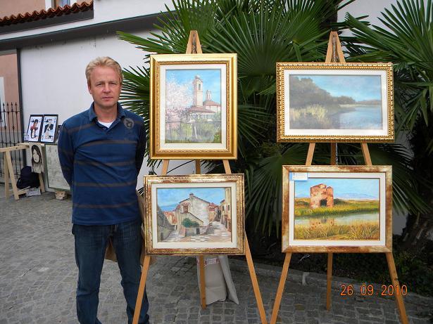 Mostra di Pittura VIA RUGABELLA - Castano Primo - 26 Settembre 2010