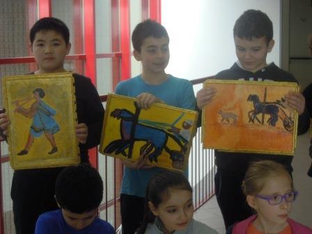 anno 2016 Nel corso dei mesi di Febbraio e Marzo, il Gruppo Artistico Occhio ha tenuto delle lezioni di disegno e pittura agli alunni delle 5 elementari Classi A, B, C di Cuggiono.