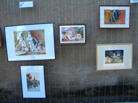anno 2015 XX^ Rassegna Arte sul Naviglio, presso Alzaia Naviglio Grande a Castelletto di Cuggiono.