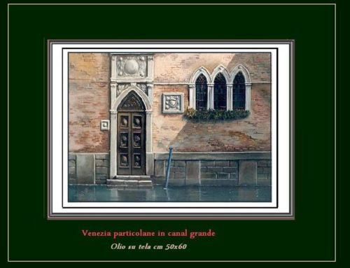 Venezia, particolare in Canal Grande