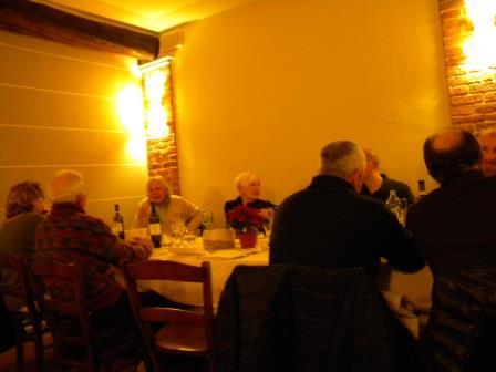 anno 2015 Cena di Natale, presso Agriturismo Molino Santa Marta - Casterno di Robecco sul Naviglio.