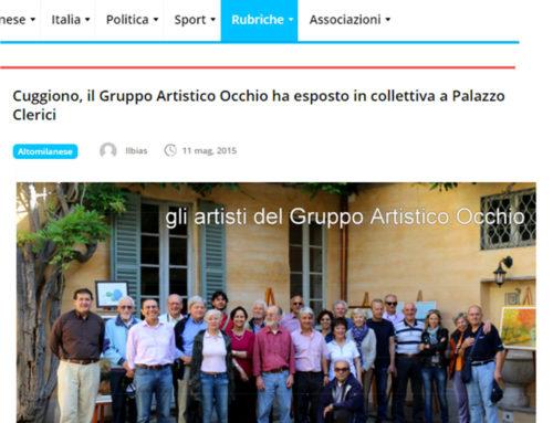 ARTICOLO APPARSO SU CORRIERE ALTO MILANESE