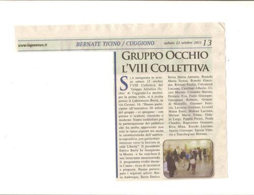 COLLETTIVA del 15 Ottobre 2011 – Cuggiono