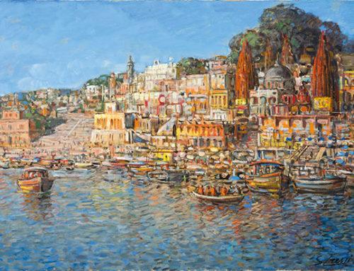 Varanase, brulicante umanità sul sacro Gange