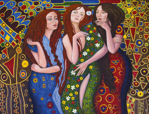 Le donne in rosso