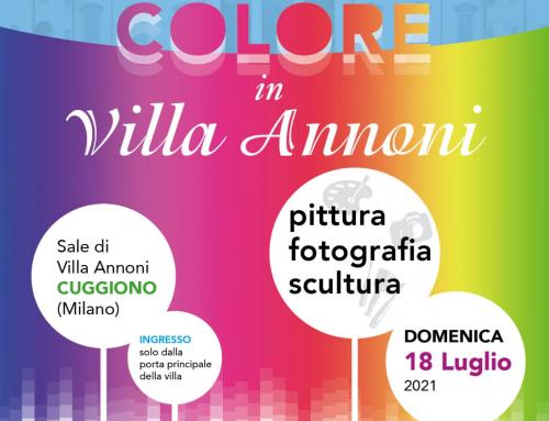 """""""Una ventata di colori in Villa Annoni"""" – Cuggiono"""